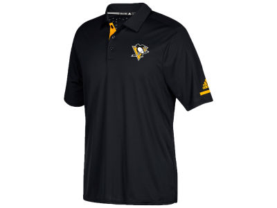 Pittsburgh Penguins adidas NHL Men's Authentic Pro Locker Room Polo