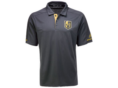 Vegas Golden Knights adidas NHL Men's Authentic Pro Locker Room Polo