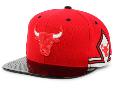 Chicago Bulls Mitchell & Ness NBA Red Hook 11 Snapback Cap