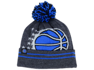 Orlando Magic Mitchell & Ness Black Heather Hi-5 Pom Knit