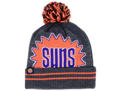 sale retailer c8d78 14328 Phoenix Suns Mitchell   Ness Black Heather Hi-5 Pom Knit