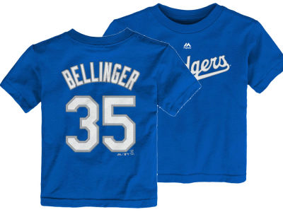 Los Angeles Dodgers Cody Bellinger Majestic MLB Toddler Official Player T-Shirt