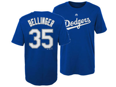 Los Angeles Dodgers Cody Bellinger Majestic MLB Kids Official Player T-Shirt