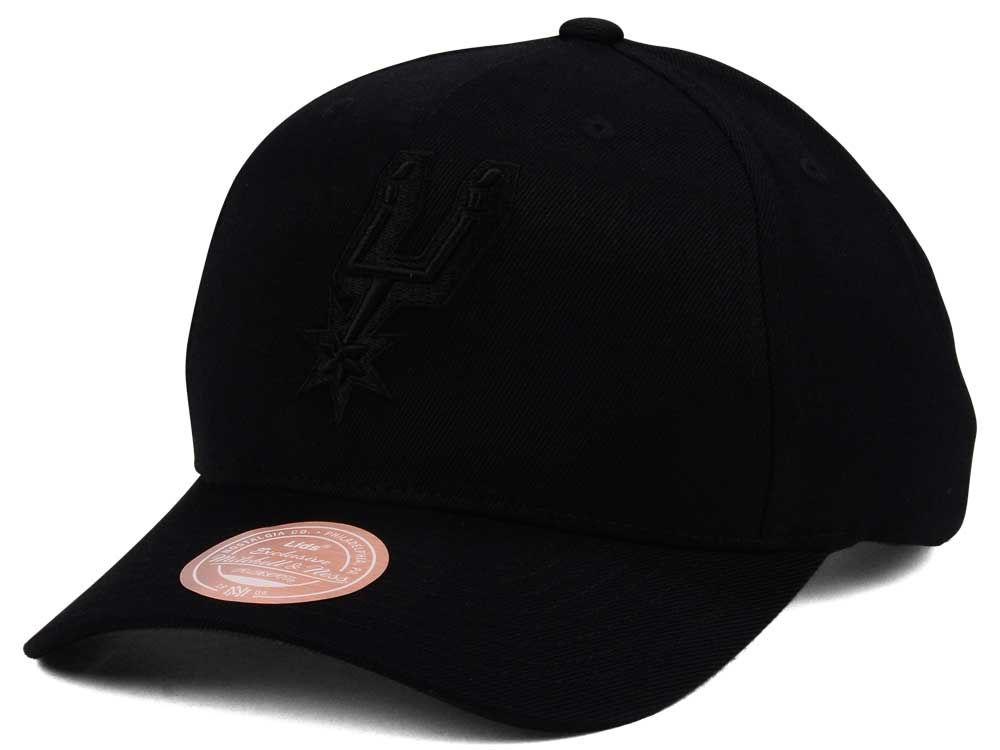713d3081c San Antonio Spurs Mitchell & Ness NBA X Flexfit 110 Snapback Cap | lids.com