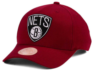 Brooklyn Nets Mitchell & Ness NBA X Flexfit 110 Snapback Cap