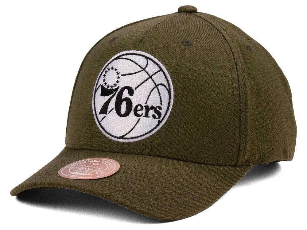 Philadelphia 76ers Mitchell   Ness NBA X Flexfit 110 Snapback Cap ... 71d7acc2d1b8
