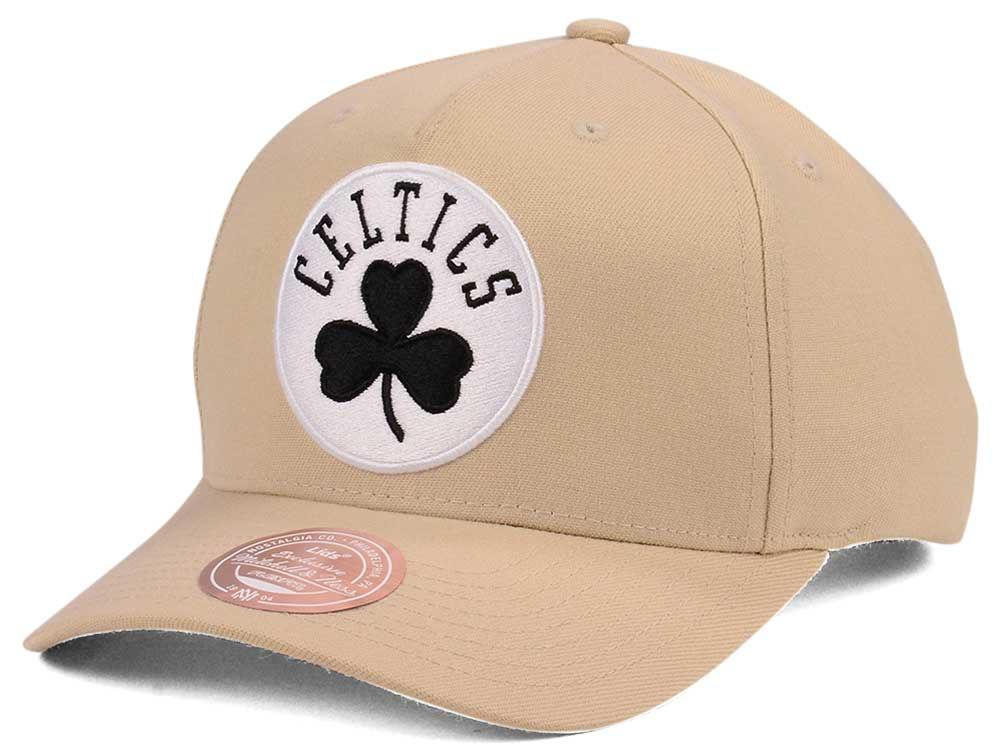 bcde11f28a5 Boston Celtics Mitchell   Ness NBA X Flexfit 110 Snapback Cap
