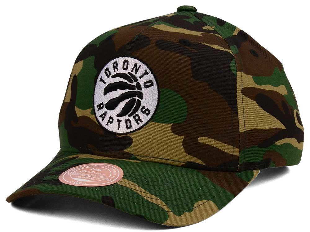 fcc7562b0a854 Toronto Raptors Mitchell   Ness NBA X Flexfit 110 Snapback Cap ...