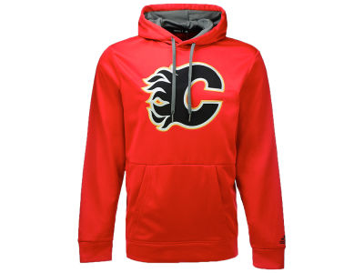 Calgary Flames adidas NHL Men's Authentic Pullover Hoodie