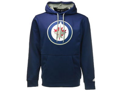 Winnipeg Jets adidas NHL Men's Authentic Pullover Hoodie