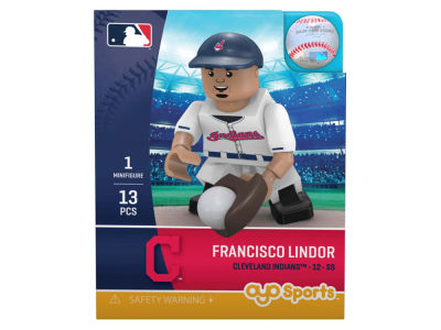 Cleveland Indians Francisco Lindor OYO MLB Player Figure