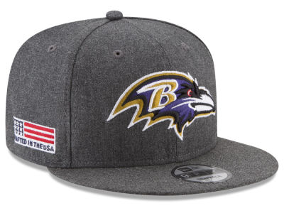 Baltimore Ravens New Era NFL Crafted In America 9FIFTY Snapback Cap