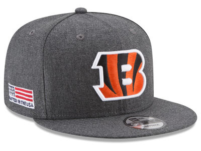Cincinnati Bengals New Era NFL Crafted In America 9FIFTY Snapback Cap