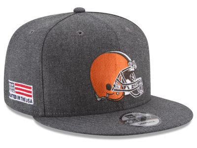 Cleveland Browns New Era NFL Crafted In America 9FIFTY Snapback Cap