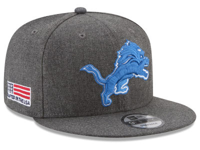 Detroit Lions New Era NFL Crafted In America 9FIFTY Snapback Cap