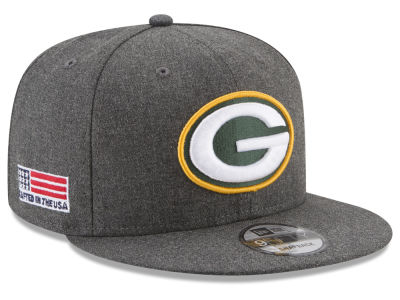 Green Bay Packers New Era NFL Crafted In America 9FIFTY Snapback Cap