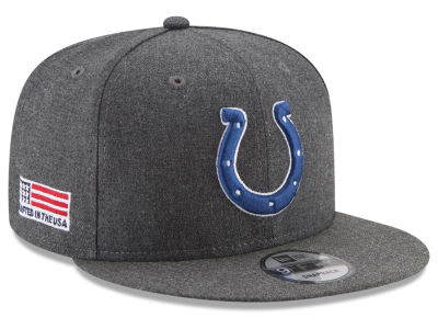 Indianapolis Colts New Era NFL Crafted In America 9FIFTY Snapback Cap