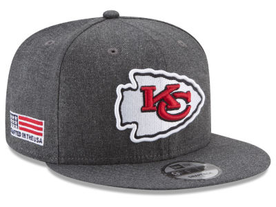 Kansas City Chiefs New Era NFL Crafted In America 9FIFTY Snapback Cap