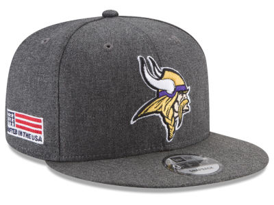 Minnesota Vikings New Era NFL Crafted In America 9FIFTY Snapback Cap