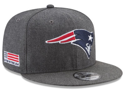 New England Patriots New Era NFL Crafted In America 9FIFTY Snapback Cap