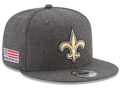 New Orleans Saints New Era NFL Crafted In America 9FIFTY Snapback Cap
