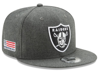 Oakland Raiders New Era NFL Crafted In America 9FIFTY Snapback Cap