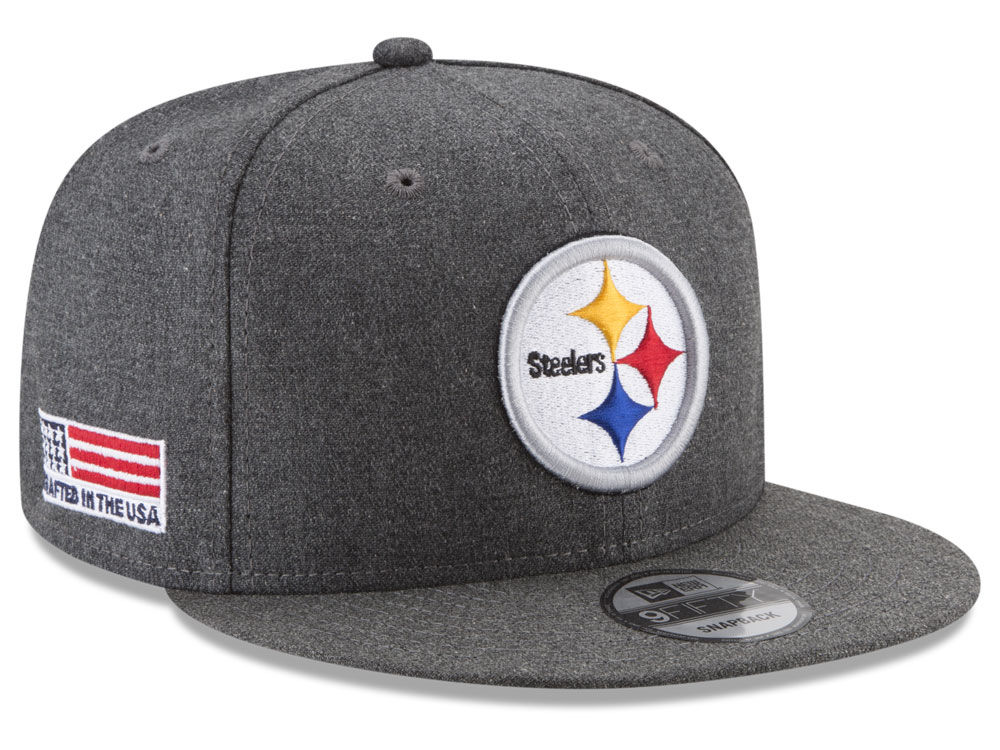 official photos 03954 33908 Pittsburgh Steelers New Era NFL Crafted In America 9FIFTY Snapback Cap    lids.com