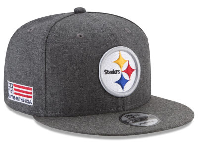 Pittsburgh Steelers New Era NFL Crafted In America 9FIFTY Snapback Cap