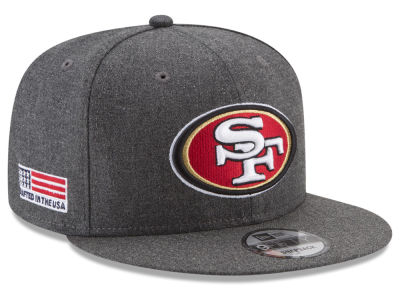 San Francisco 49ers New Era NFL Crafted In America 9FIFTY Snapback Cap