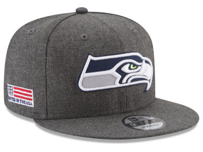 Seattle Seahawks New Era NFL Crafted In America 9FIFTY Snapback Cap