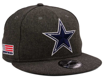 Dallas Cowboys New Era NFL Crafted In America 9FIFTY Snapback Cap