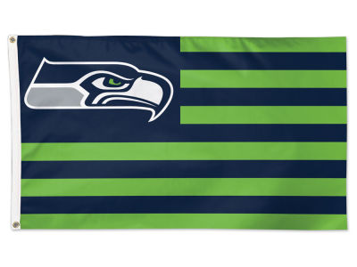 Seattle Seahawks Wincraft 3x5 Deluxe Flag