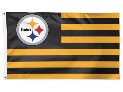 Pittsburgh Steelers Wincraft 3x5 Deluxe Flag