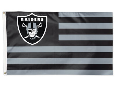 Oakland Raiders 3x5 Deluxe Flag