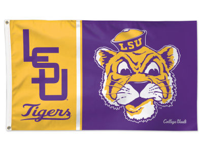 LSU Tigers 3x5 Deluxe Flag