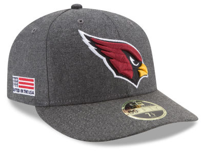 Arizona Cardinals New Era NFL Crafted In America Low Profile 59FIFTY Cap