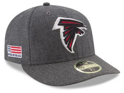 Atlanta Falcons New Era NFL Crafted In America Low Profile 59FIFTY Cap