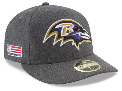 Baltimore Ravens New Era NFL Crafted In America Low Crown 59FIFTY Cap