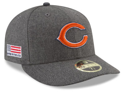 Chicago Bears New Era NFL Crafted In America Low Crown 59FIFTY Cap