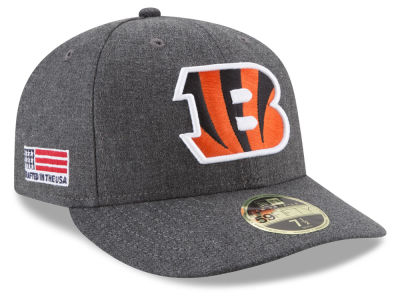 Cincinnati Bengals New Era NFL Crafted In America Low Profile 59FIFTY Cap
