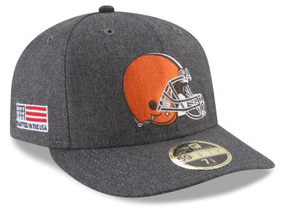 Cleveland Browns New Era NFL Crafted In America Low Profile 59FIFTY Cap