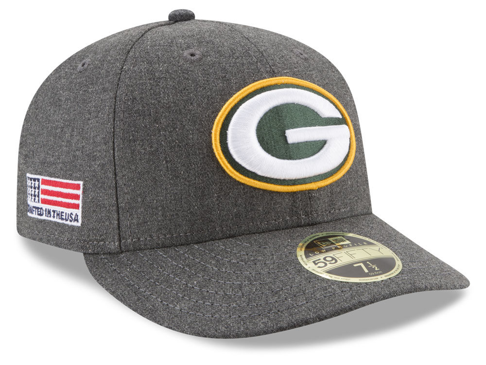 Green Bay Packers New Era NFL Crafted In America Low Profile 59FIFTY Cap  a697fea3177