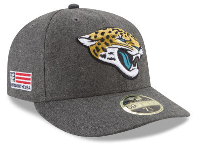 Jacksonville Jaguars New Era NFL Crafted In America Low Crown 59FIFTY Cap