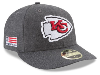 Kansas City Chiefs New Era NFL Crafted In America Low Profile 59FIFTY Cap