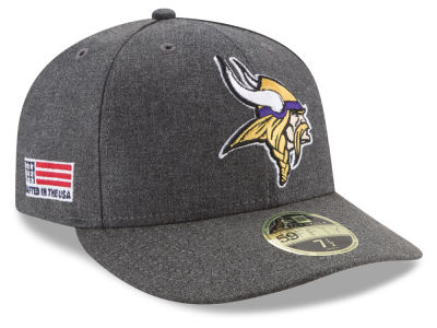 Minnesota Vikings New Era NFL Crafted In America Low Crown 59FIFTY Cap