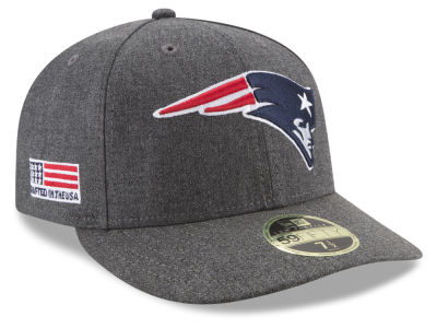 New England Patriots New Era NFL Crafted In America Low Crown 59FIFTY Cap