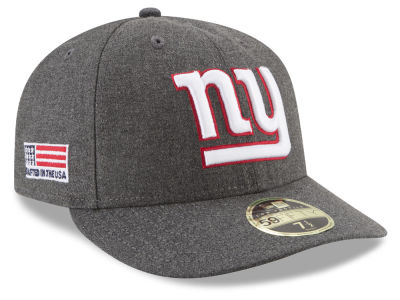New York Giants New Era NFL Crafted In America Low Profile 59FIFTY Cap