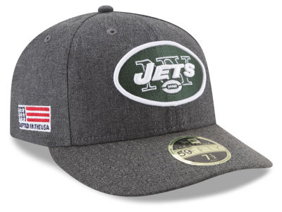New York Jets New Era NFL Crafted In America Low Crown 59FIFTY Cap