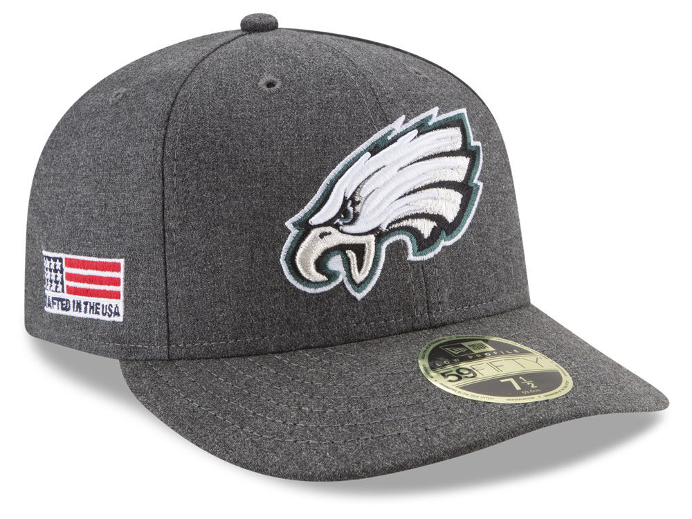 Philadelphia Eagles New Era NFL Crafted In America Low Profile 59FIFTY Cap   054a3c0c615