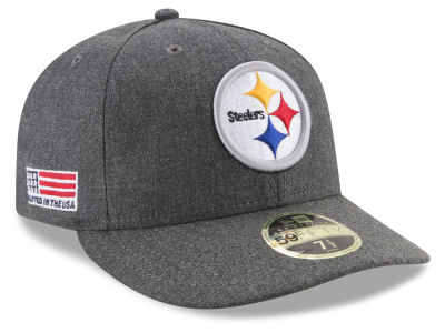 Pittsburgh Steelers New Era NFL Crafted In America Low Crown 59FIFTY Cap